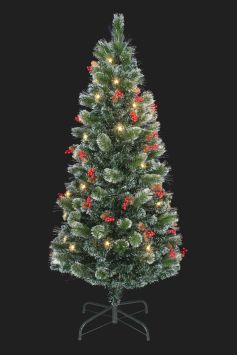 Fibre Optic Christmas Tree With Baubles.Shop Fibre Optic Trees For Xmas Christmas Tree World