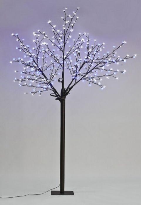 The 3m 10ft Blue White Led Blossom Tree