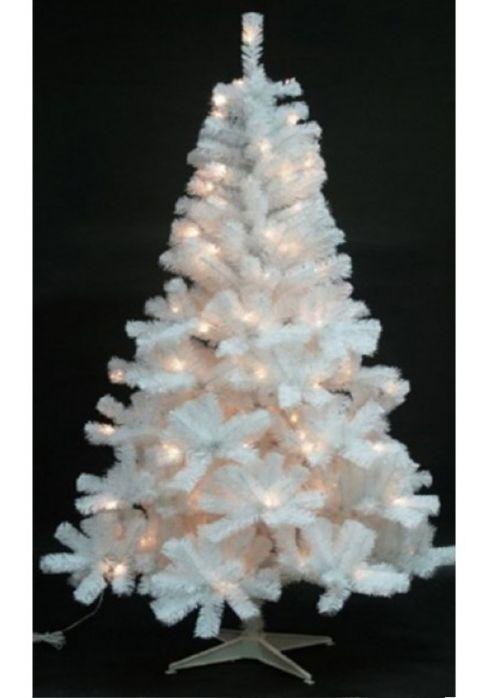 on sale 806ef be5ed The White Princess Pre-Lit Fir tree (Multi-Coloured)
