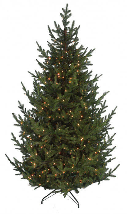 Pre Lit Ultra Mountain Pine Realistic Artificial Christmas Tree