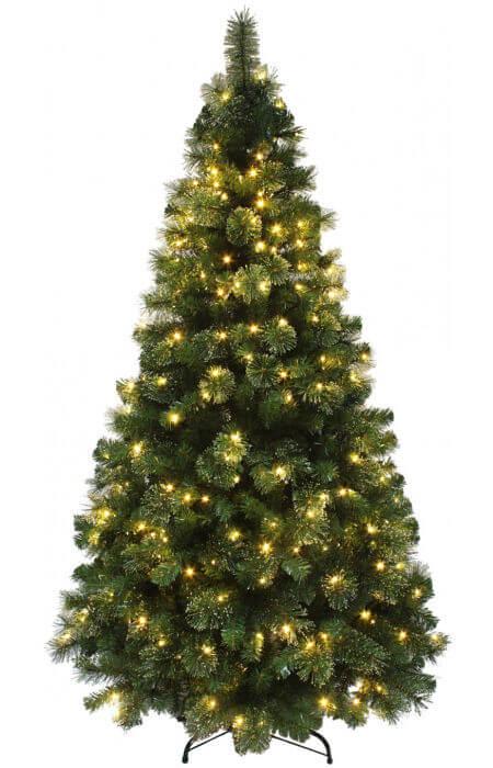 The Pre-lit Majestic Dew Pine Tree