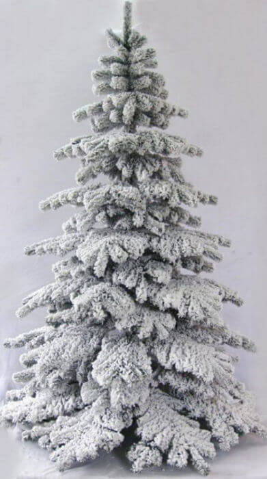 The Snow White Fir from Christmas Tree World
