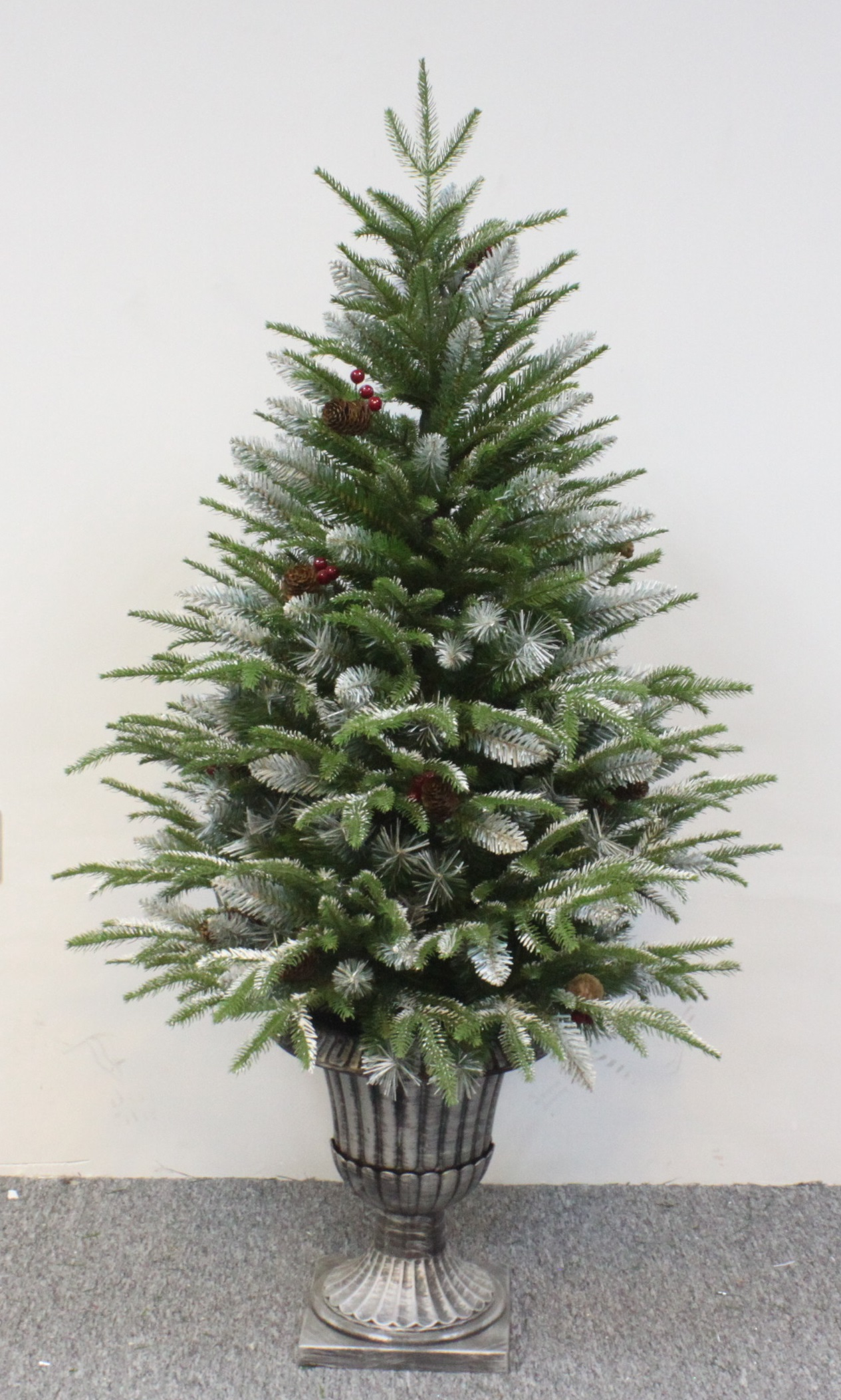 The 4ft outdoor frosted fir Outdoor christmas tree photos
