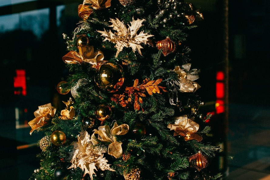 The guide to buying an artificial Christmas tree for a small space