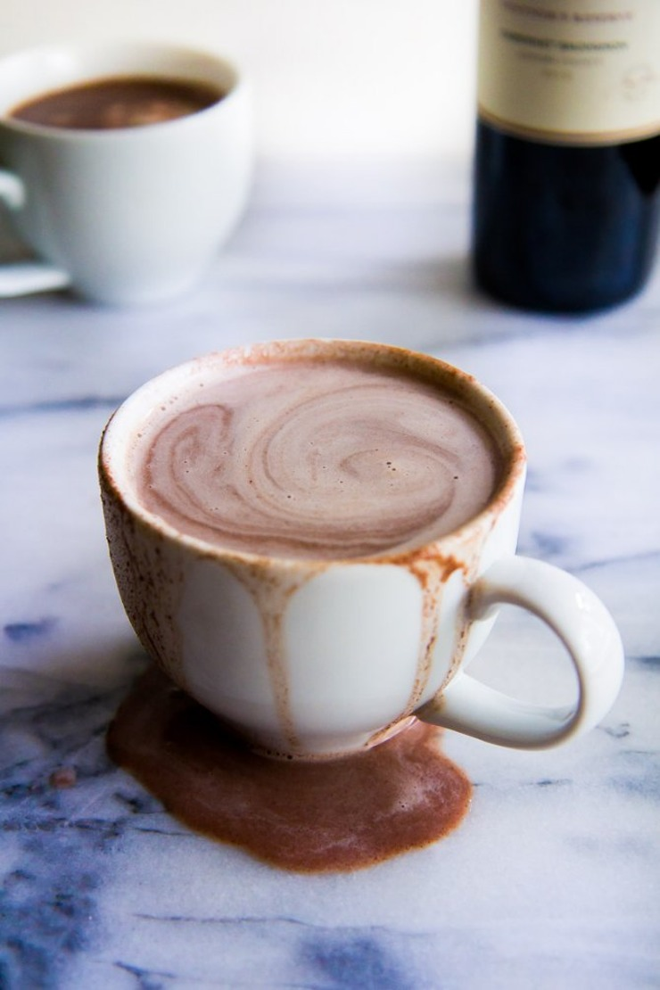 Red Wine Hot Chocolate Recipe (for the grown-ups!)